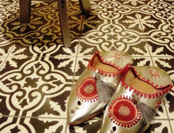 Marokkaanse sfeer cementtegels